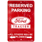 Ford Tractor Reserved Parking