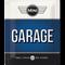 Mini Garage Blue